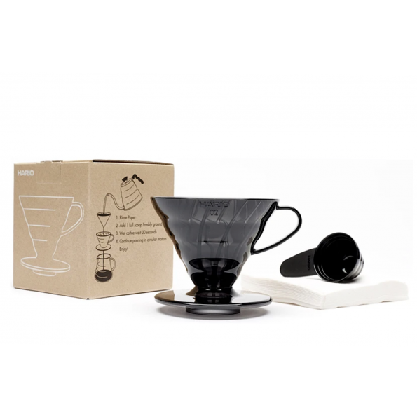 V60 Dripper Set Black